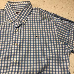 Vineyard Vines Boys Oxford Size Large 16-18